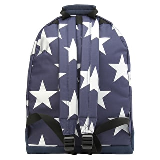 Mi-Pac Stars XL Backpack - Navy/Silver