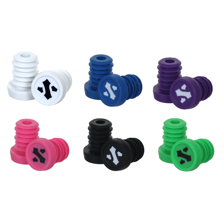 Sacrifice Nylon Bar Ends (pair) - Assorted Colours