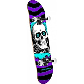 Powell Peralta One Off Ripper Complete Skateboard - Purple/Turquoise 8