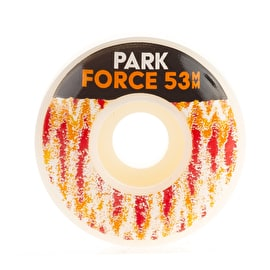 Force Jason Park Skateboard Wheels 53mm - Tie Dye