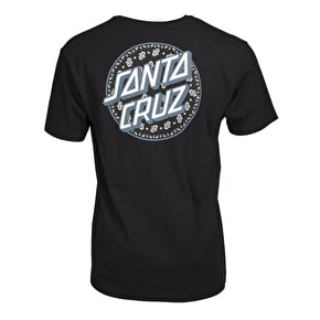 Santa Cruz Paisley Dot T-Shirt - Black