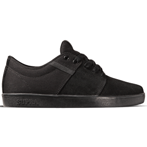 Supra Stacks II Shoes - Black/Black/Black