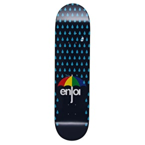 Enjoi Raining Panda HYB Skateboard Deck - Dark Blue 8
