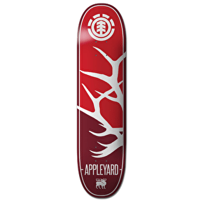 Element Silhouette Skateboard Deck - Appleyard 8.25