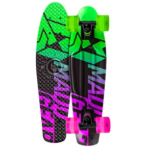 Madd Gear Pro Urban Wrap Retro Cruiser - Fader Lime/Pink