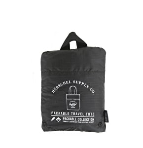 Herschel Packable Tote Bag - Black