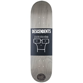 Santa Cruz x Descendents Milo Head Skateboard Deck - 8.25