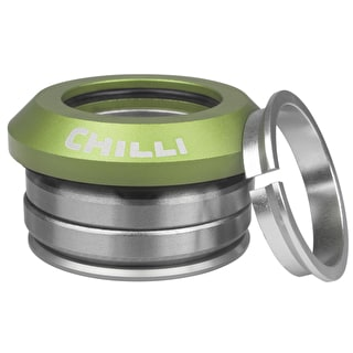 Chilli Pro Integrated Scooter Headset - Green