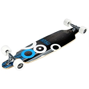 Atom Mini Drop-Through Complete Longboard - Blue 36