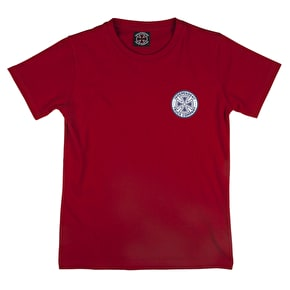 Independent Youth Colors T-Shirt - Cardinal Red