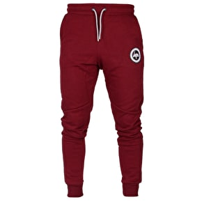 Hype Crest Joggers - Burgundy