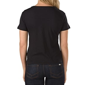 Vans Anthem Womens T-Shirt - Black
