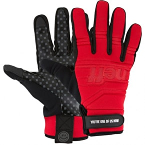 Neff Daily Pipe Gloves - Red