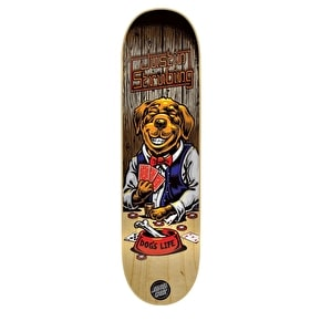 Santa Cruz Poker Dog Skateboard Deck - Strubing 8.3