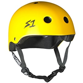 S1 Lifer Multi Impact Helmet - Yellow Matte