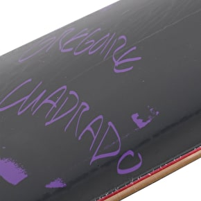 National Skateboard Co Gregoire Cuadrado x Catalogue Skateboard Deck - Purple 8.25