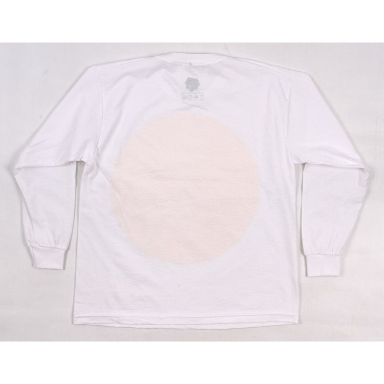 SkateHut Pastel Gradient Long Sleeve Kids T-Shirt - White