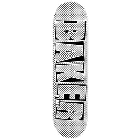 Baker Hawk Brand Name Halftone Dipped Skateboard Deck - 7.75