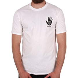 SkateHut All Seeing Eye T Shirt - White