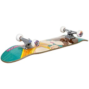 Hook-Ups Custom Skateboard - Kissing Girls - 8.19