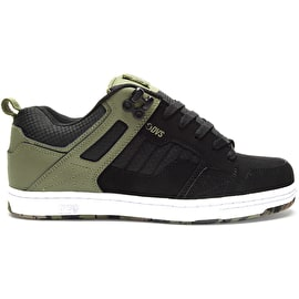 DVS Enduro 125 Skate Shoes - Olive/Black/Nubuck