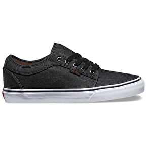 Vans Chukka Low Shoes - (Denim) Black