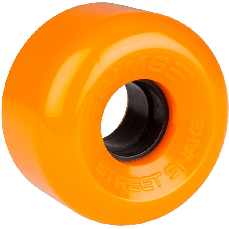 Sims Street Snakes 62mm Quad Roller Skate Wheels - Fluro Orange