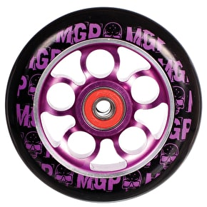 MGP Aero Skull Scooter Wheel - Purple 110mm