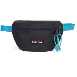 Eastpak Springer Bum Bag - Navy/Aqua