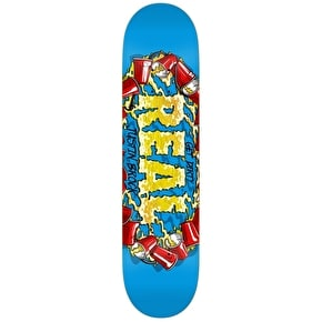 Real Skateboard Deck - Pro Oval Kegger Brock Blue 8.25