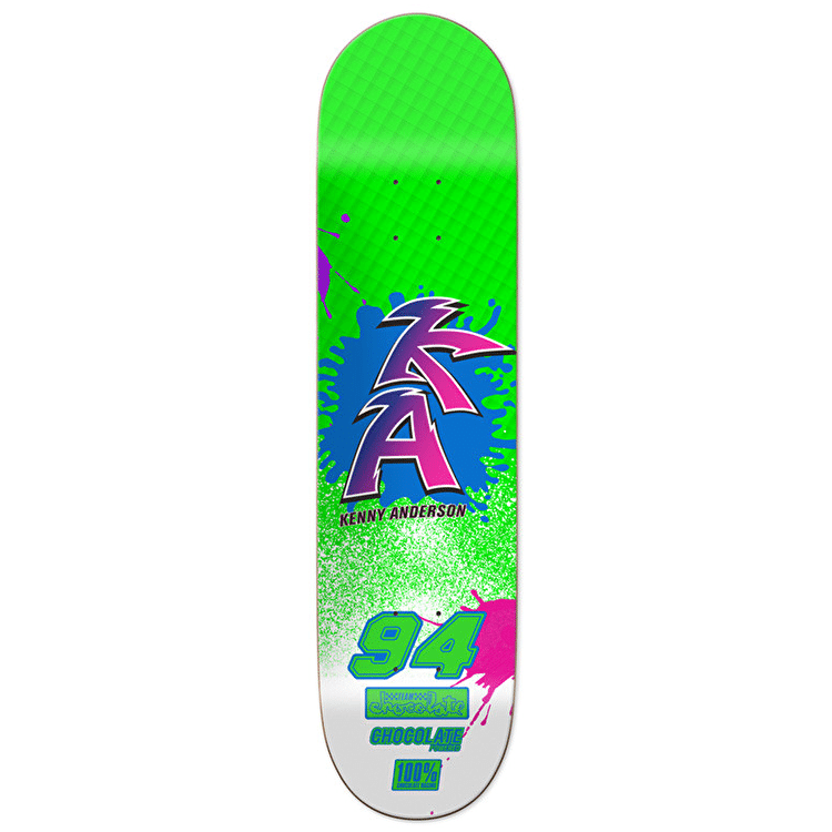 Chocolate BRAAAP! Skateboard Deck - Anderson 8.125""