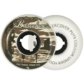 Undercover  Nick Lomax Pro Post Card Line Aggressive Wheels 90a 60mm