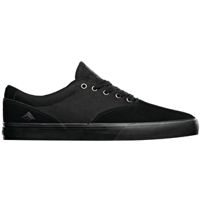 Emerica Provost Slim Vulc Shoes - Black/Black