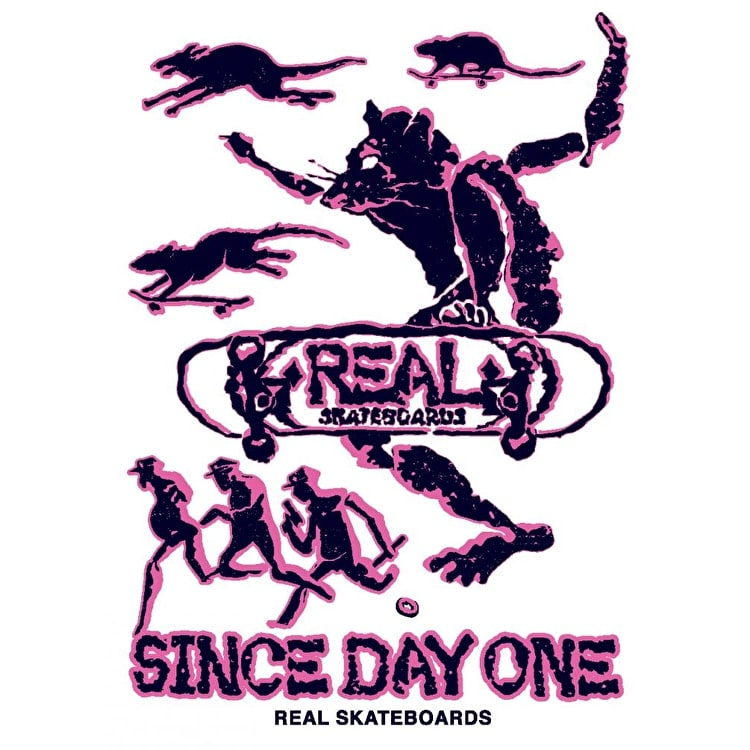 Real Skateboard Sticker - Evolution M