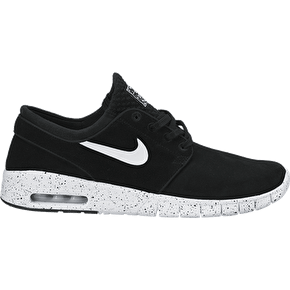 Nike SB Stefan Janoski Max L Shoes - Black/White