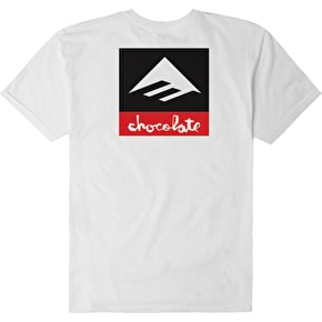 Emerica x Chocolate T-Shirt - White