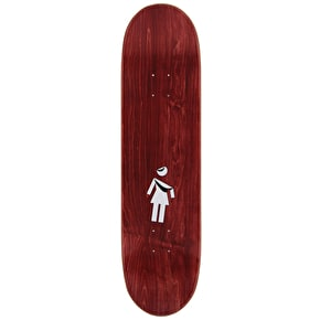 Girl Folded OG Carroll Skateboard Deck - 8.375