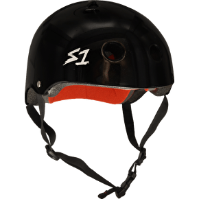 S1 Lifer Multi Impact Helmet- Black Glitter
