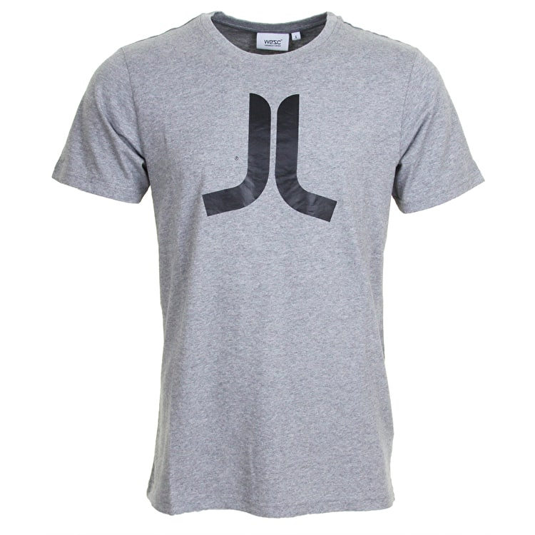 WeSC Icon T-Shirt - Grey Melange