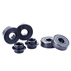 Sacrifice Roller Coaster Abec 9 Bearings - Black/Black (Pack of 4)