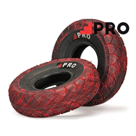 Rocker Street Pro Tyres - Red/Black Marbled