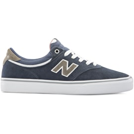 New Balance 255 Skate Shoes - Navy/Grey