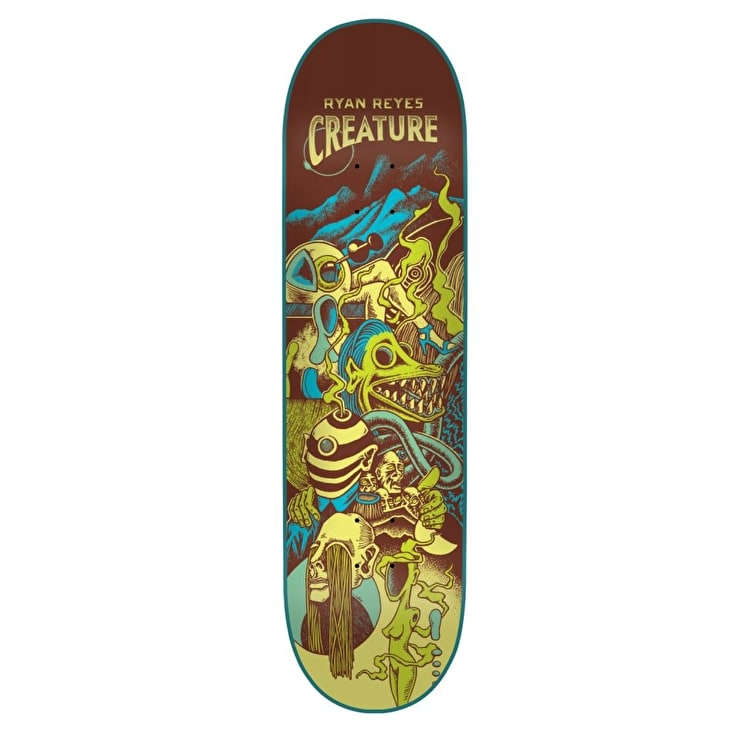 Creature Reyes Eclipse Skateboard Deck - 8""
