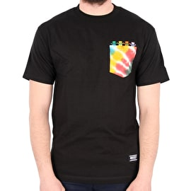Grizzly x Grateful Dead Happy Family Pocket T-Shirt - Black