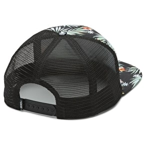 Vans Classic Patch Trucker Cap - Black Decay Palm