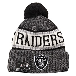 New Era NFL Sideline Beanie - Oakland Raiders