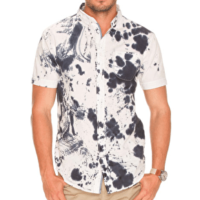 Globe Tide Short Sleeve Shirt - Dirty White