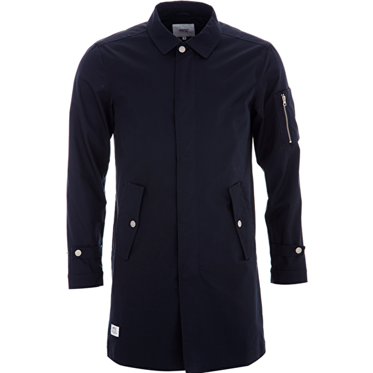 WeSC The Trench Jacket - Navy Blazer