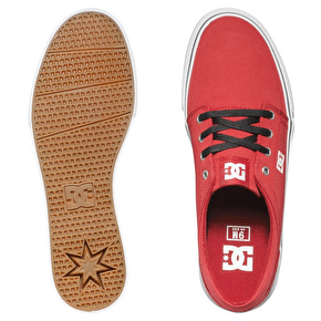 DC Trase TX Shoes - Dark Red