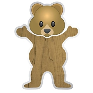Grizzly Torey Pudwill Bear Sticker